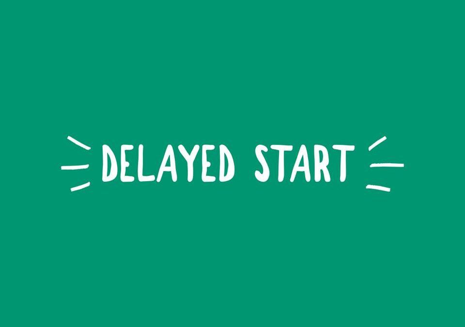 Delayed Start for Schools